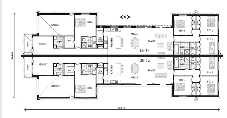 Bellagio 195 dual occupancy home designs in gj for Gardner flooring
