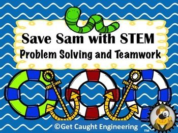 Free: Save Sam with STEM! With a gummy worm, gummy lifesaver, a cup, and a paperclip, students will work in teams of two to solve a STEM challenge. Based on a popular STEM activity, we have added the engineering design process to this free activity. Perfect for an introduction to engineering in grades k-6 or a staff workshop.