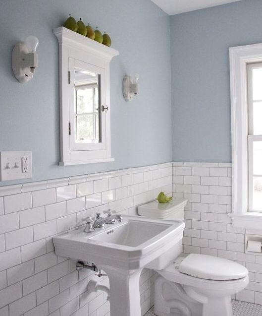 Bathroom Tile Ideas Blue And White best 20+ light blue bathrooms ideas on pinterest | blue bathroom