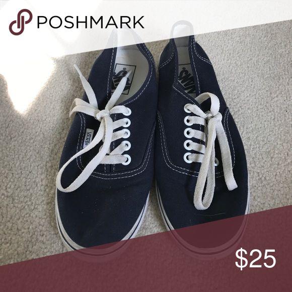 navy Vans navy color Vans Shoes