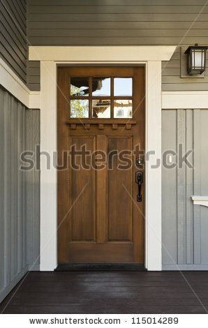 25 best ideas about Wood front doors on Pinterest Dark front