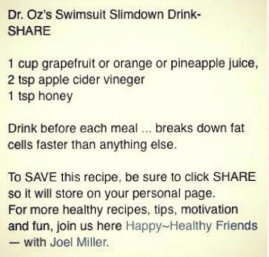 Slim Down Drink! Loose 10 Pounds In A Week #Health #Fitness #Trusper #Tip