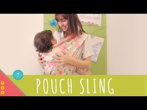 Descomplica! Aprenda a costurar um pouch sling - YouTube