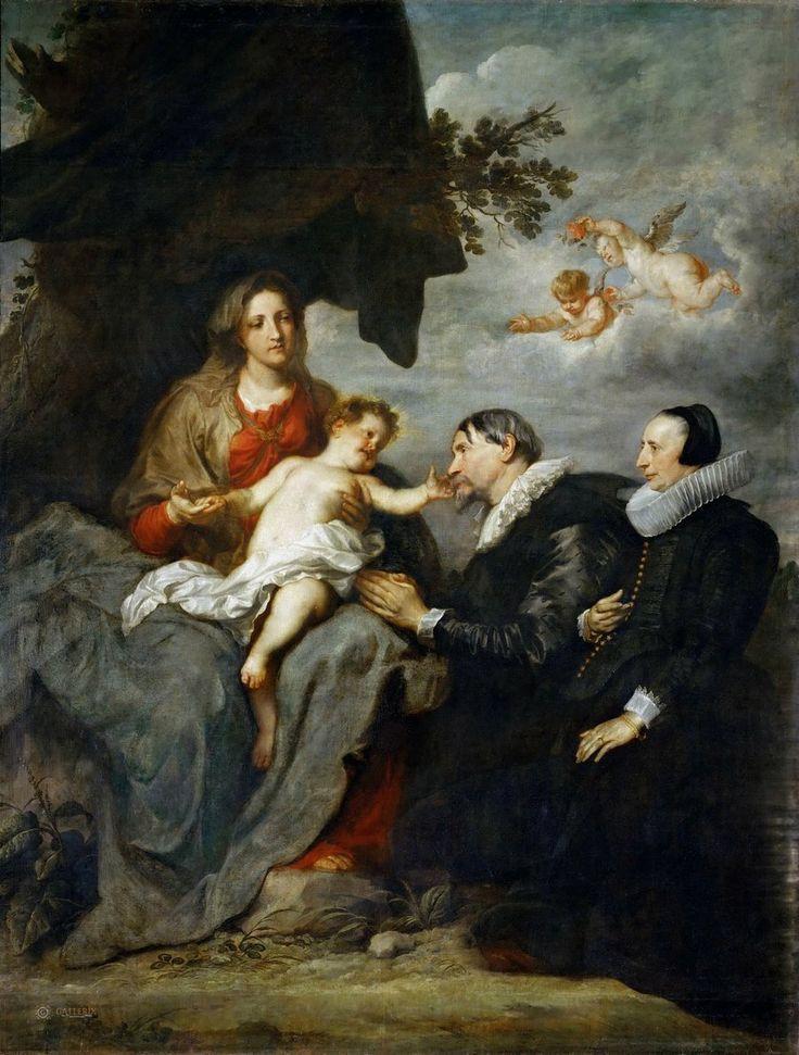 Sir Anthony van Dyck (Антонис ван Дейк, Flemish painter, 1599–1641) \2\. Обсуждение на LiveInternet - Российский Сервис Онлайн-Дневников Дейк, Антонис ван (1599 Антверпен - 1641 Лондон) Мадонна с младенцем и донаторы Лувр.