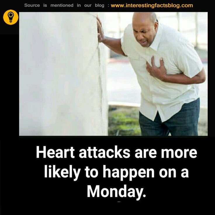 Do You Know Mostly Heart Attacks Happen on Monday Mornings