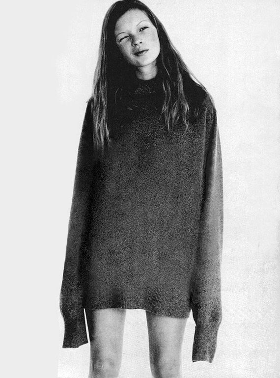 Kate Moss by Corinne Day for i-D Magazine, 1993