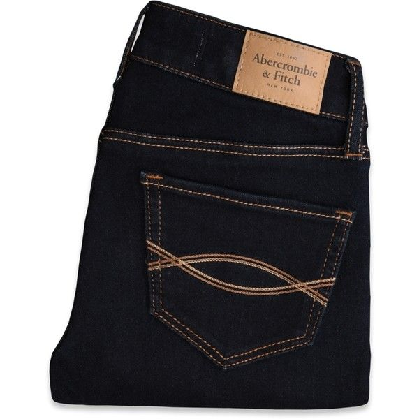 Abercrombie & Fitch A&F Super Skinny Ankle Jeans (€35) ❤ liked on Polyvore featuring jeans, pants, bottoms, abercrombie jeans, abercrombie fitch jeans, ankle length jeans, super skinny ankle jeans, ankle length skinny jeans and skinny fit jeans