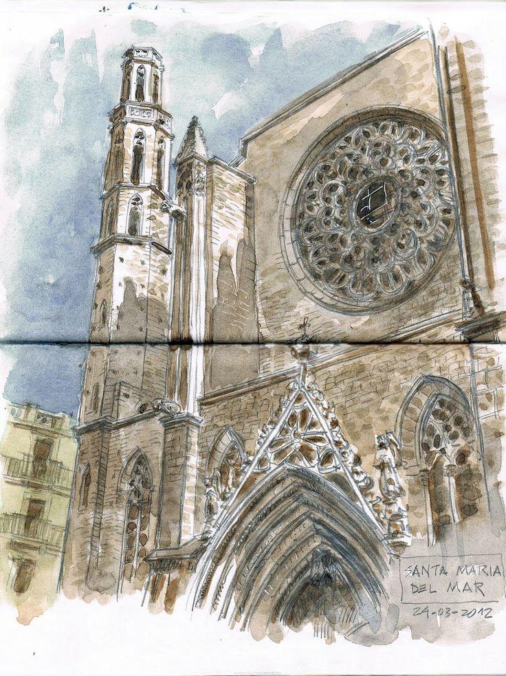 Urban Sketchers Spain. El mundo dibujo a dibujo.: Dibujando el sábado