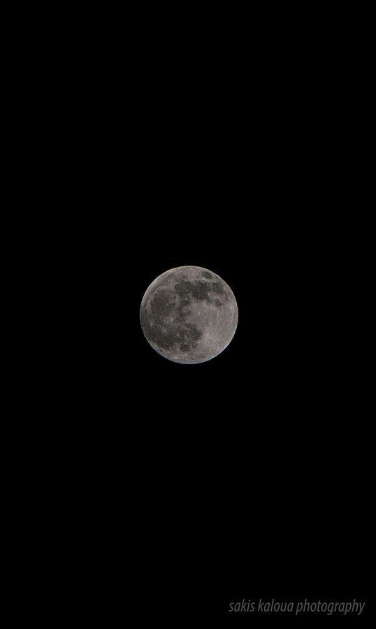 Moon, Kilkis, Greece