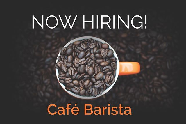 Do You Want To Join Teamedge Were Looking For A Part Time Cafe Barista To Join There Edge Cafe At Our Roastery In Ford Lane Arundel Cafe Barista Barista Cafe