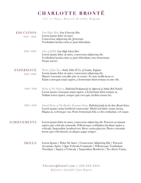 12 best Work it images on Pinterest Resume, Resume ideas and