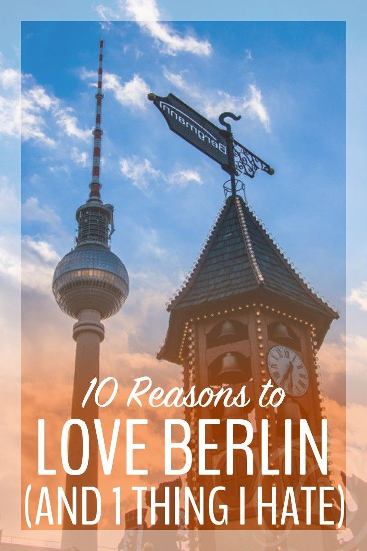 There have been times when we've disliked Berlin immensely, even a few days when we've hated it. But, I must admit, Berlin is slowly growing on us.    So, though Berlin has never stolen my heart the way Prague, Paris and Vienna did, there are still plenty of reasons to love Berlin.  Here are…   10 Reasons to Love Berlin (and One Thing I Hate) http://www.myfiveacres.com/travel-inspiration/love-berlin/
