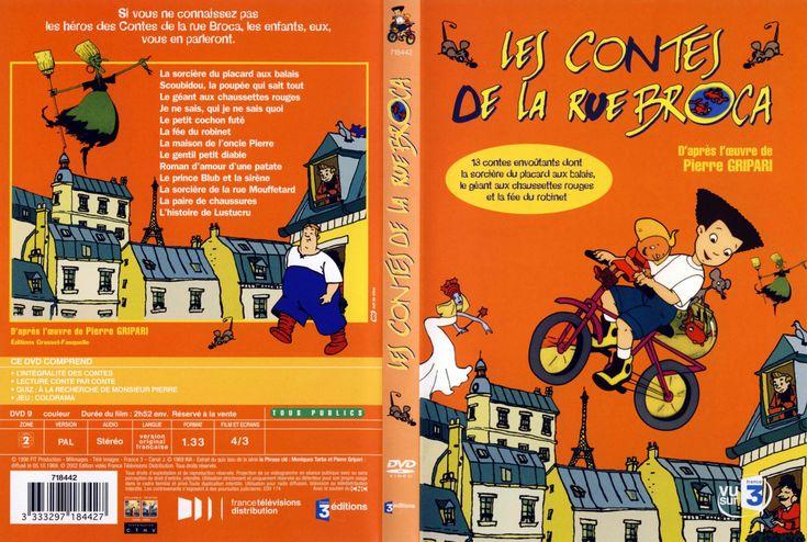 Jaquette dvd les contes de la rue broca best cartoons ever pinterest de la rue - Contes rue broca ...