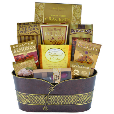 #Gifts #Gift Baskets #Ottawa #Corporate Gifts #Gourmet; our Savoury Plus, elegant tin filled with Savory treats for any occasion!