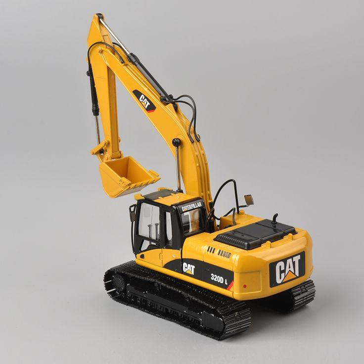 48.55$  Buy here - http://alipwf.shopchina.info/go.php?t=32798545106 - Norscot 1/50 scale DieCast Caterpillar Cat 320D L Hydraulic Excavator 55214 Construction vehicles toy gift for boy     48.55$ #magazineonline