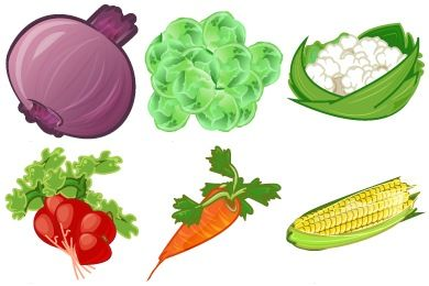 Food icons for use in presentations etc.