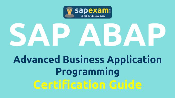 SAP Certified Development Associate ABAP with SAP NetWeaver 7.40 Certification Sample Questions and Online Practice Exam for C_TAW12_740 Certification Exams. http://www.sapexam.com/sap-nw-certification/advanced-business-application-programming-abap-c-taw12-740
