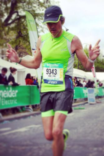 Yann Gillet is the GM at Hyatt Regency Paris and will run the Chicago Marathon to support St. Jude Children's Research Hospital!