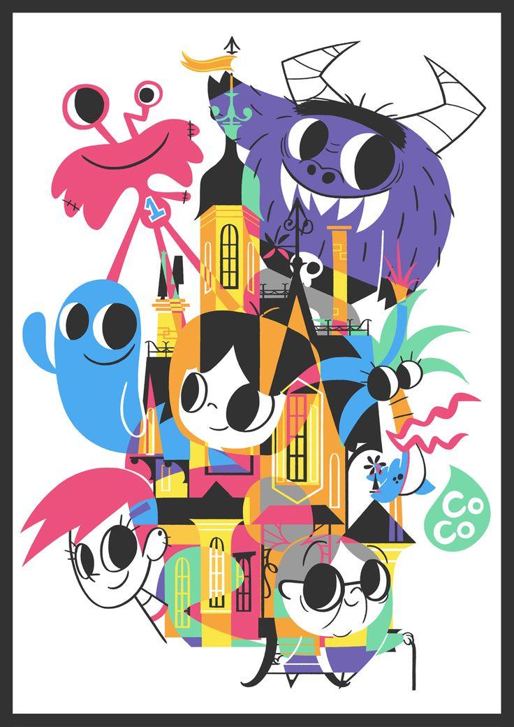 Cartoon Tribute: Fan arts por artistas brasileiros