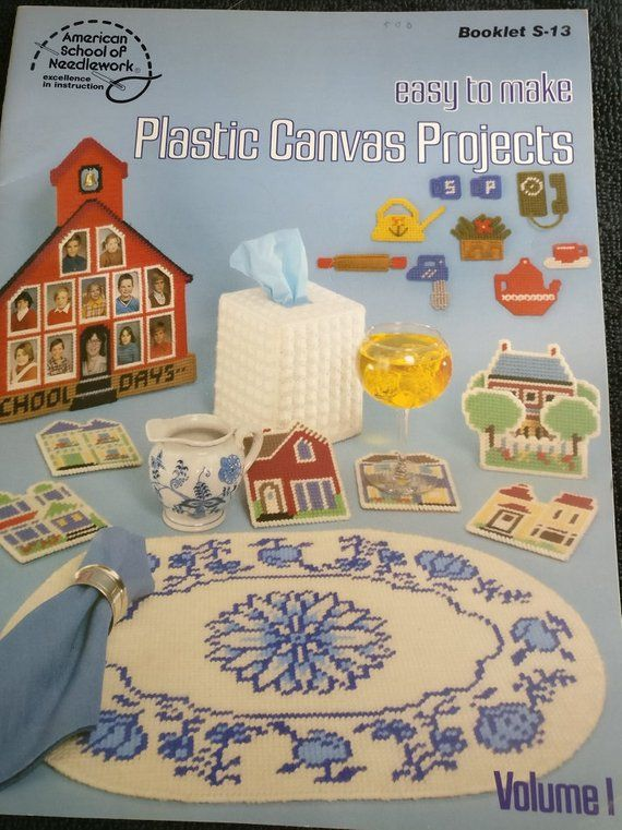 Something for Every Birdie Houses Tissue Plastic Canvas PATTERN//INSTRUCTIONS NEW