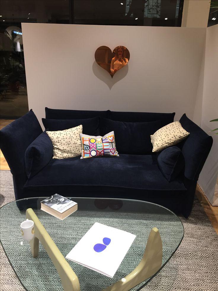 Mariposa sofa is just so comfortable. #Vitra #sofa #mariposa  #EdwardBarberandJayOsgerby #