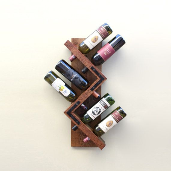 1000 ideas about wall mounted wine racks on pinterest - Vinotecas de madera ...