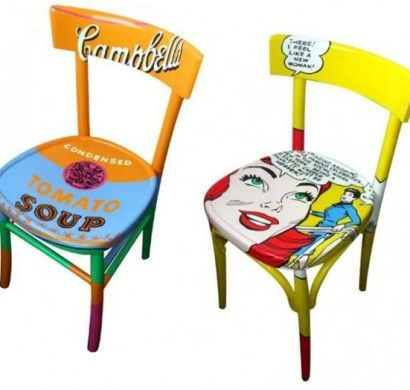 pop-art-merkmale-designer-stühle-popkunst