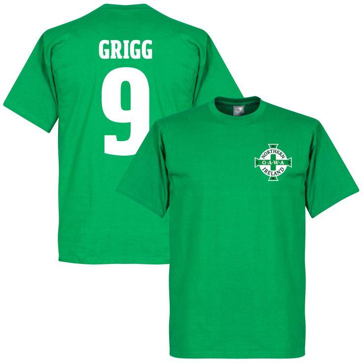 Noord Ierland Logo Will Grigg T-Shirt