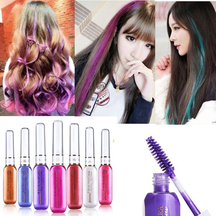 Sementara rambut warna-warni maskara tidak beracun campuran rambut, Warna Dye Highlights Salon M02195