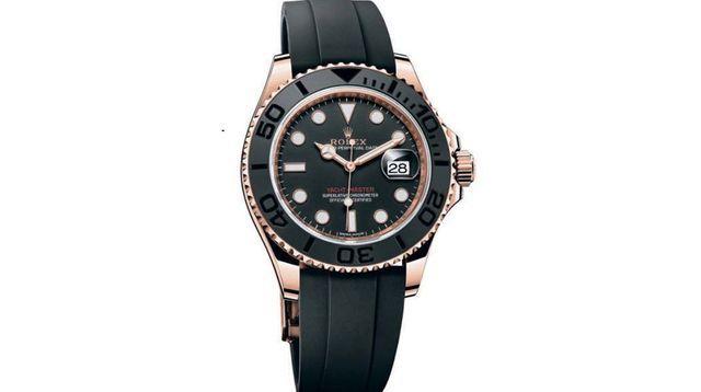 bâle 2015 horlogerie | MONTRE. Rolex Oyster Perpetual Yacht-Master, plongée en haute mer