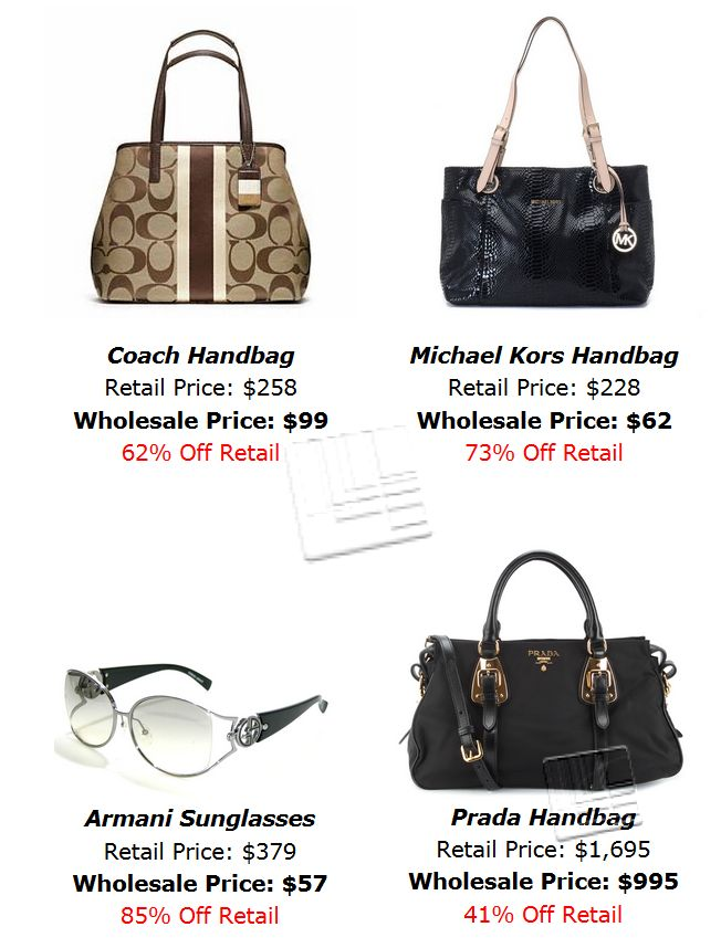 Wholesale Designer Handbags - Where to Buy Them