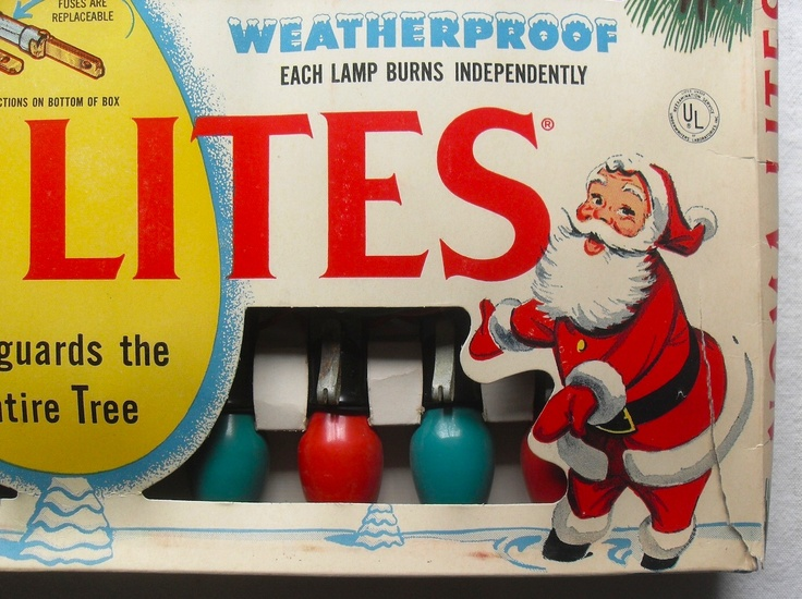 Best 25 noma christmas lights ideas on pinterest vintage 1959 vintage noma lites christmas bulbs packaging box c aloadofball Image collections
