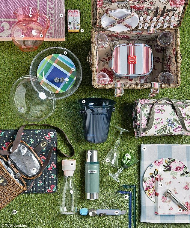 Joules Picnic Hamper in the Daily Mail #spotit #picnic