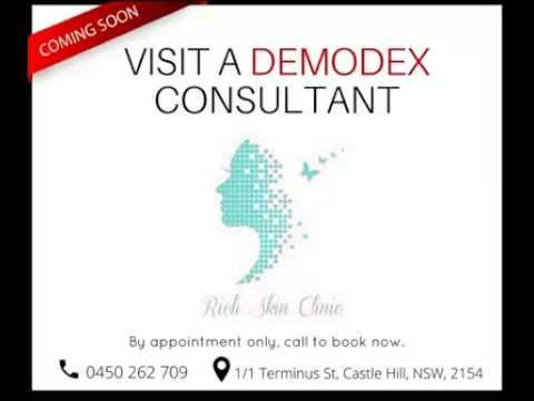 Demodex Consultation at the Rich Skin Clinic, NSW
