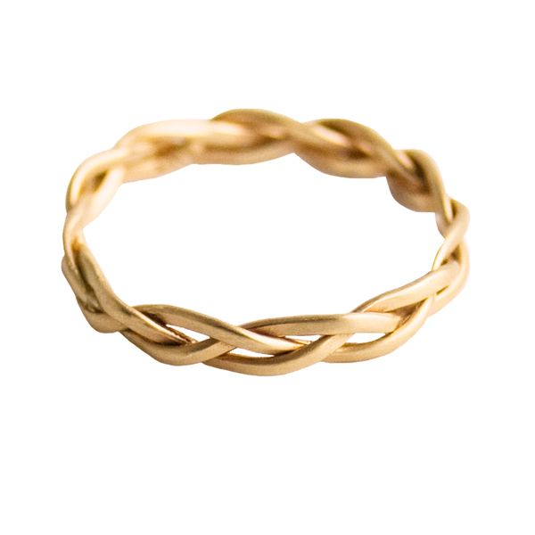 pretty braided ring