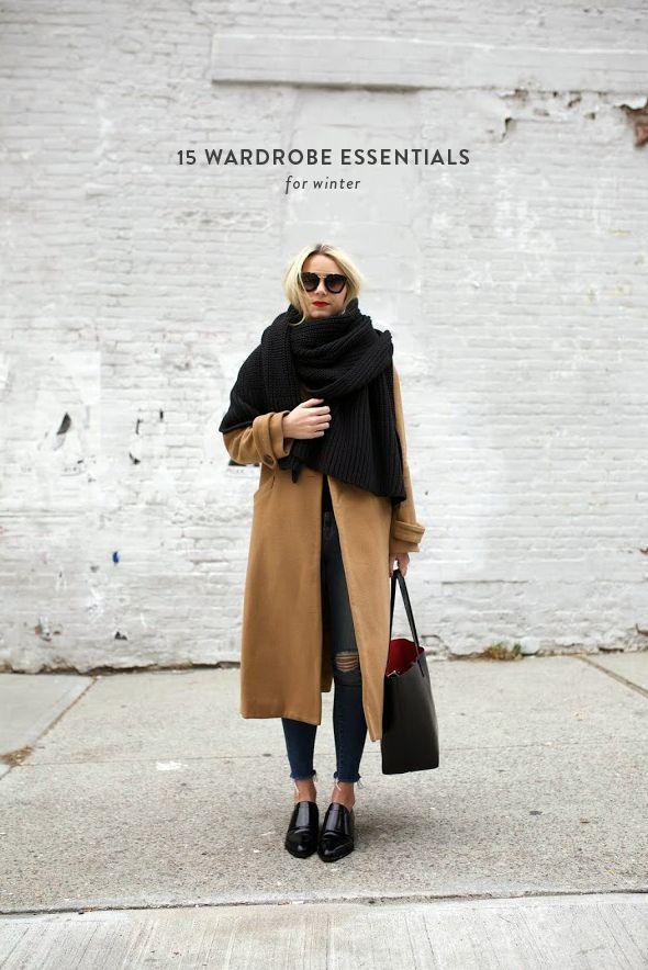 15 Wardrobe Essentials for Winter