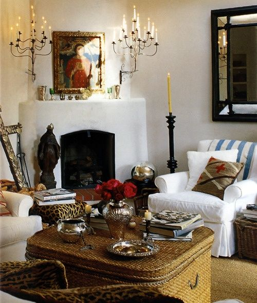 Santa Fe cozy home..... had to pin again I love this so much!!!