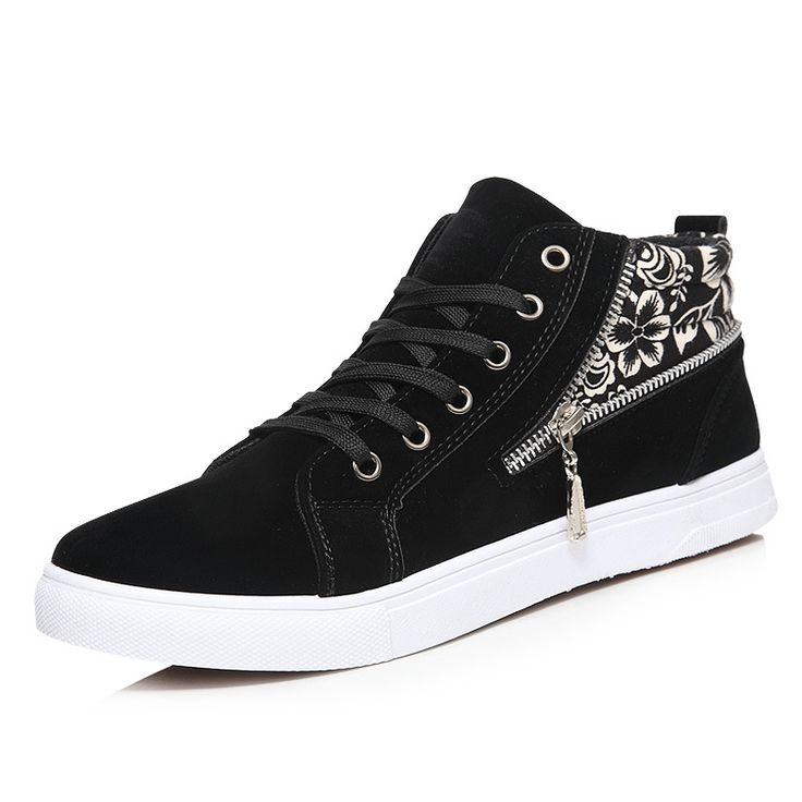 Find More Loafers Information about New Summer Fashion Breathable Black Men Loafers Canvas Shoes High Quality Casual Comfort Zipper Flat Men Casual Shoes,High Quality leather corner sofa white,China leather agent Suppliers, Cheap leather footballs for sale from Fashion Boutique Discount Stores on Aliexpress.com