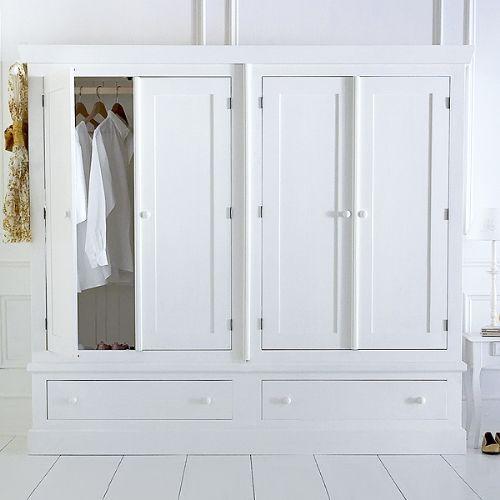 Four door Shaker wardrobe - painted to order