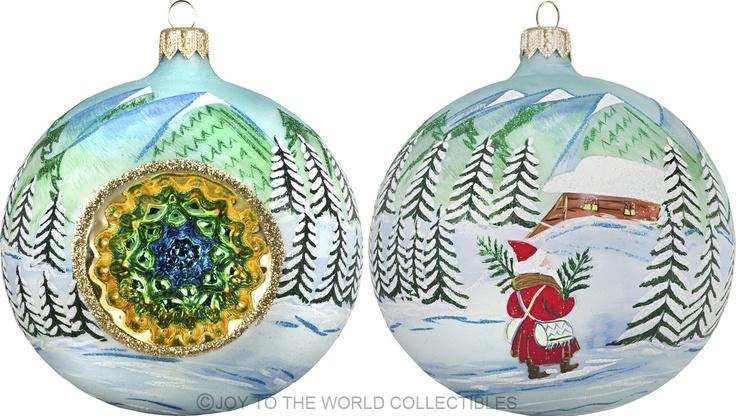 Carpathian Mt Reflector Ball by Joy To The World ...