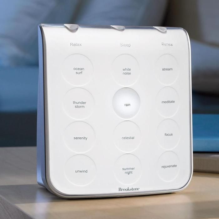 If you have trouble getting restful sleep at night get yourself this Brookstone Sleep Therapy System. It works on Delta, Alpha, and Theta brainwaves, training your brain to match these frequencies for a restful sleep. I've had mine for a week and love it (wake up feeling alert and well-rested even when I average 6hrs of sleep).