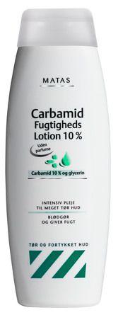 Matas UDEN PARFUME Carbamid Fugtighedslotion 10% 500 ml