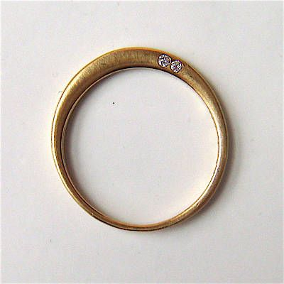 """loved"" ring in 14k gold: if i could have a second wedding band, this would be it. in a heartbeat!"
