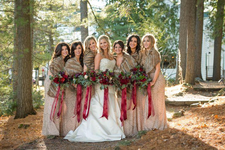 #VisualRoots #SherwoodInn #Muskoka #Bridesmaids