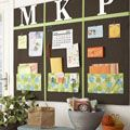 Make Your Own Bulletin Board at WomansDay.com - DIY Noteboard - Woman's Day