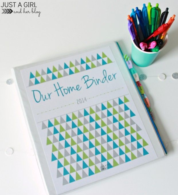 Take a sneak peek at our home binder and snatch up all of the free printables you need to create your own!