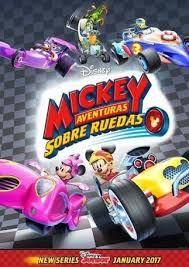 Resultado de imagen para mickey aventuras sobre ruedas