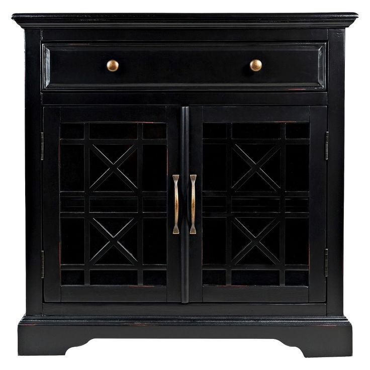 Jofran Craftsman 32 Accent Chest- Antique Black