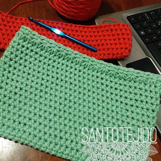 Nueva colección.. muy pronto!!! Estén atentas a las novedades 😉💚❤  #crochet #ganchillo #tejerhacefeliz #algodónteadoro #algodónxl #puntoestrella #verdeagua #santotejido #handmade
