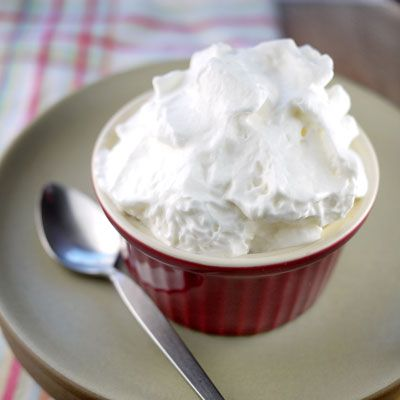 Whipped Carnation Evaporated Milk Topping Who knew you could make whipped cream from evaporated milk?